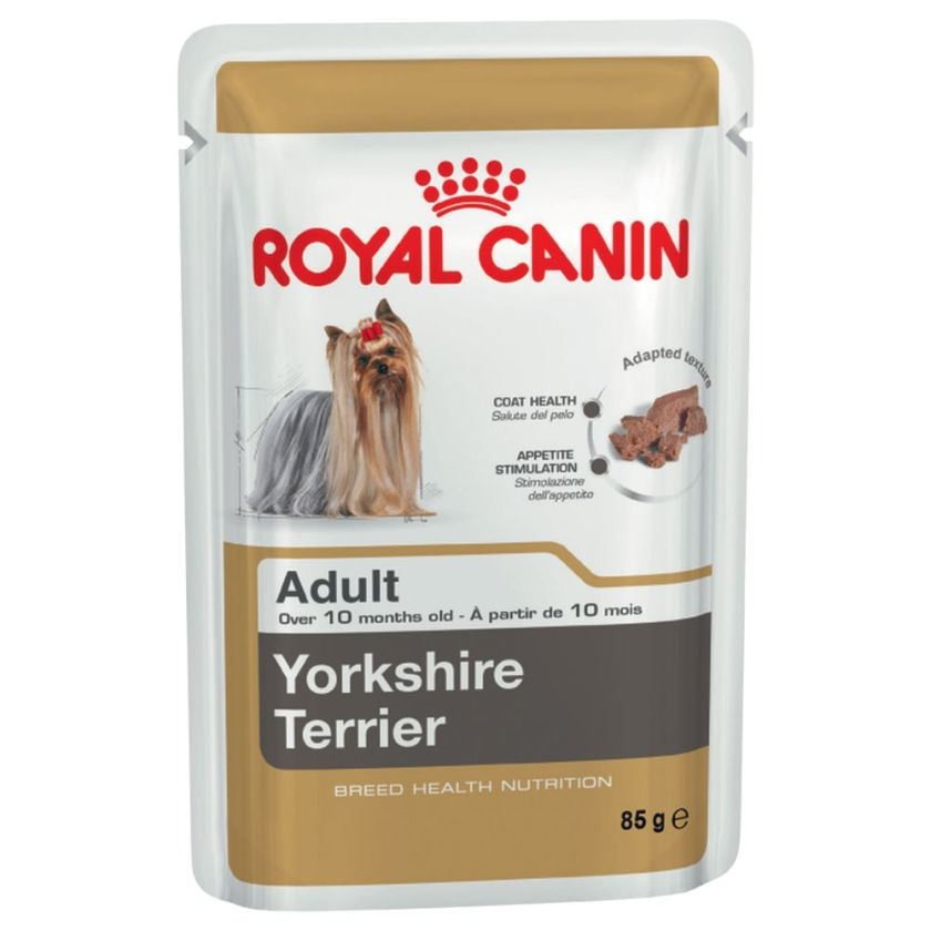 Royal Canin Breed Yorkshire Terrier pour chien - 48 x 85 g
