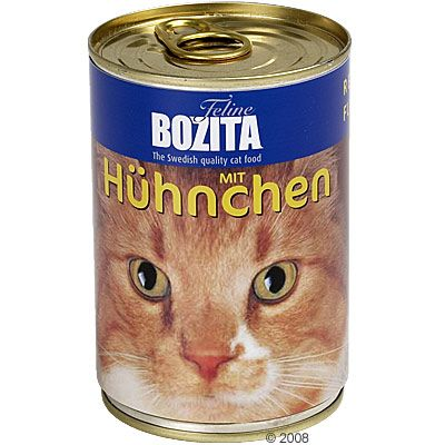 6x410g saumon Bozita - Nourriture pour Chat