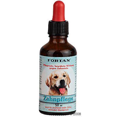 Soin dentaire Fortan pour chien - 50 mL