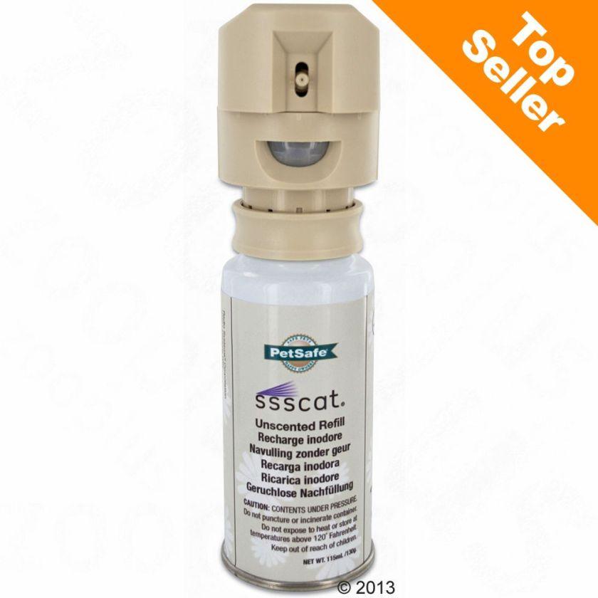 Spray répulsif Petsafe SSSCat pour chien et chat - 1 recharge de spray