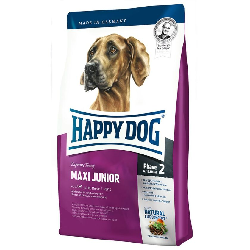 Happy Dog Supreme Young Maxi Junior (Phase 2) pour chiot - 2 x 15 kg