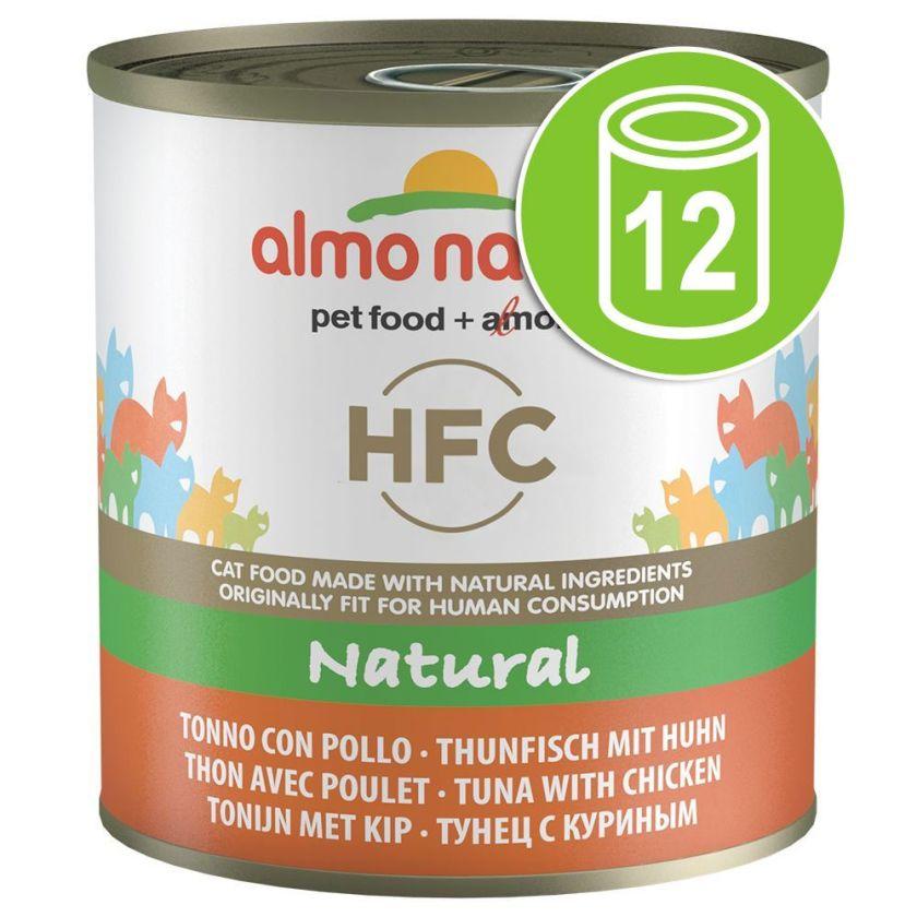 12x280g Classic Almo Nature Filet de poulet Boîtes pour chat