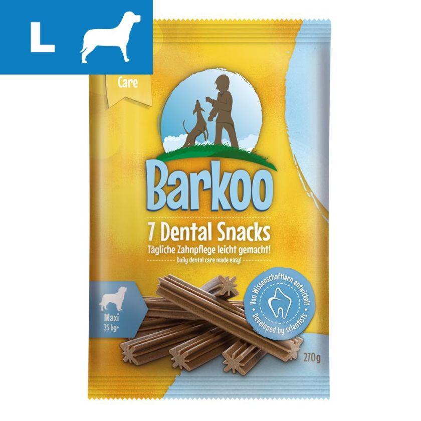 Friandises bucco-dentaires Barkoo Dental Snacks Maxi - 270 g (7 friandises)