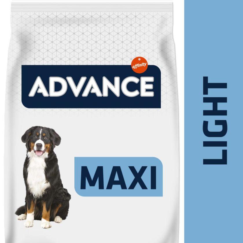 14kg Maxi Light Advance Croquettes pour chien