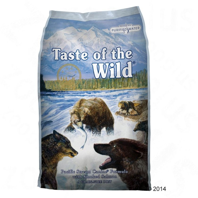 2x13kg Pacific Stream Taste of the Wild Croquettes pour chien