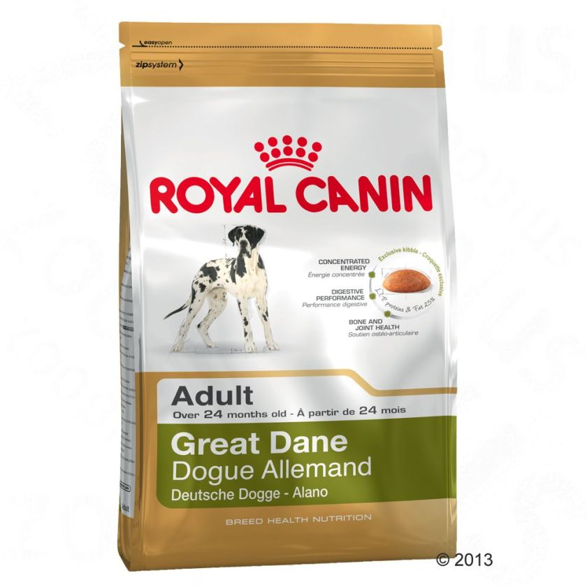 Royal Canin Breed Great Dane Adult pour chien - 2 x 12 kg