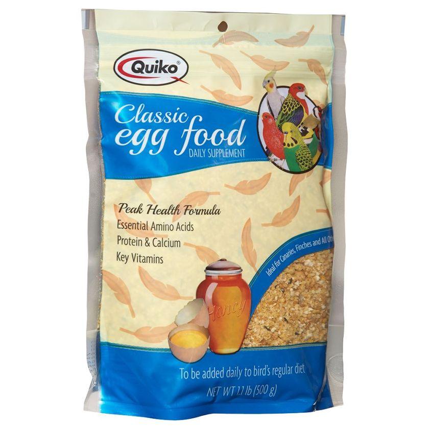 Complément alimentaire pour oiseaux Quiko à base d´œuf - 500 g