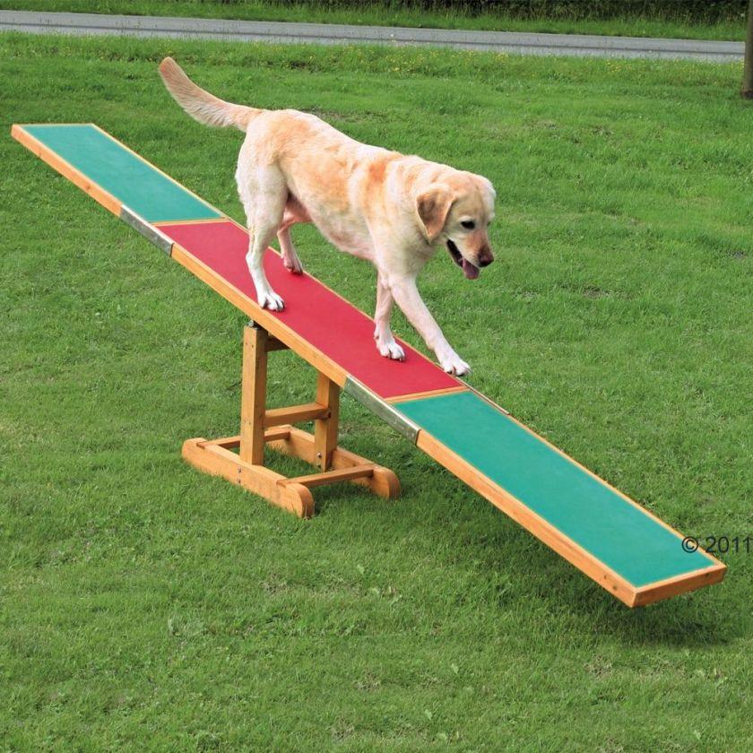 Balançoire Agility Trixie pour chien L300xl34xH54cm