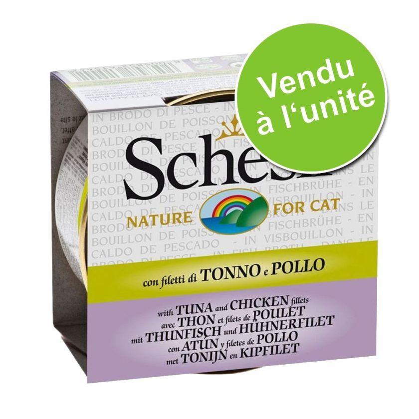 70g thon blanchailles Schesir - Sachets et Boîtes pour Chat