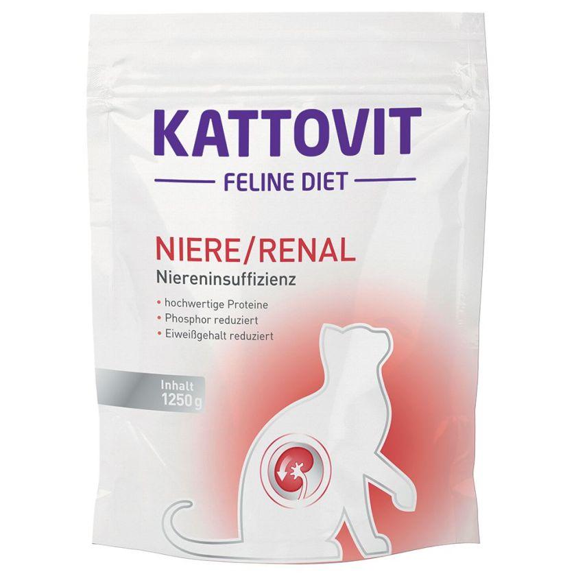 4kg Renal spécial reins Kattovit - Croquettes pour Chat