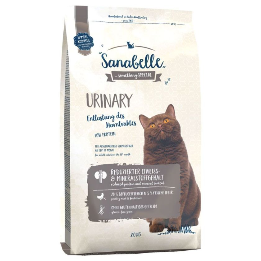 2x2kg Urinary Sanabelle pour chat