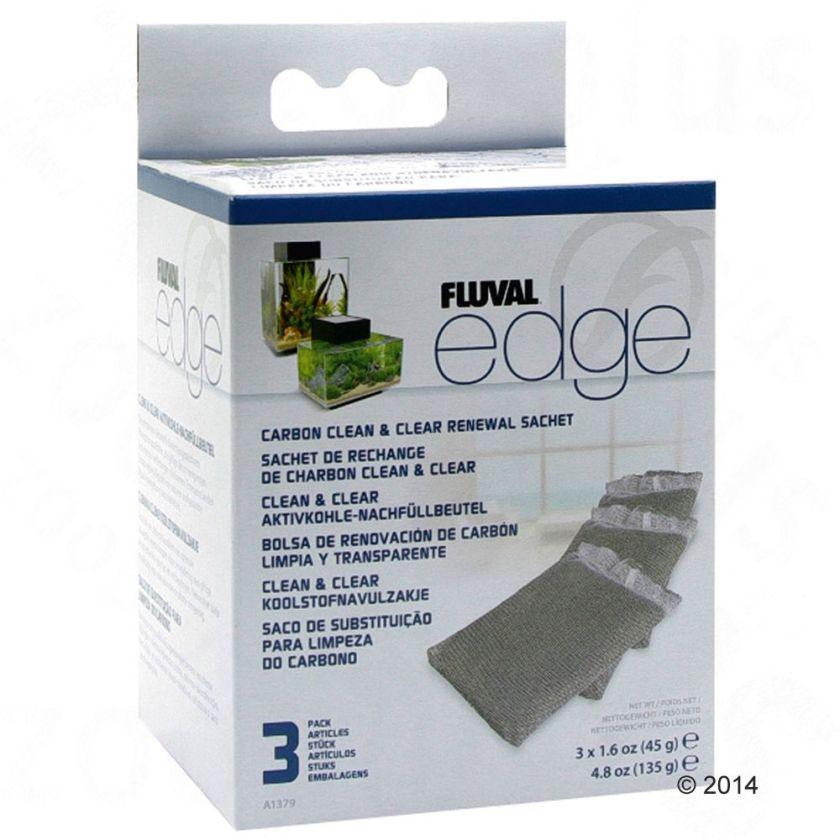 Masse filtrante avec charbon actif 3e Fluval Edge - pour aquarium Fluval Edge 25 L