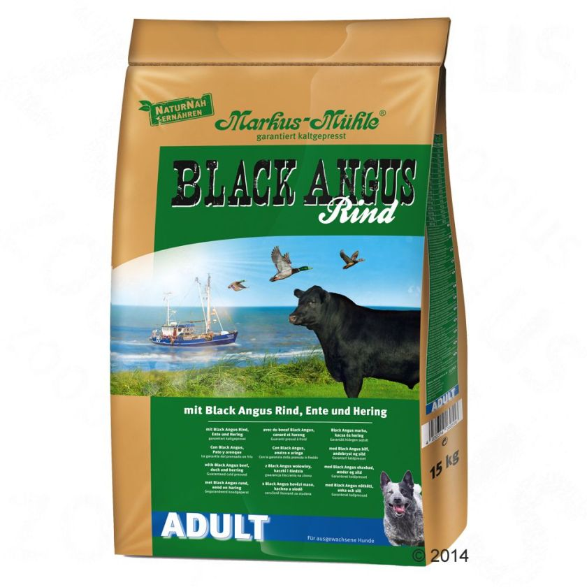 Black Angus Adult pour chien - 2 x 15 kg