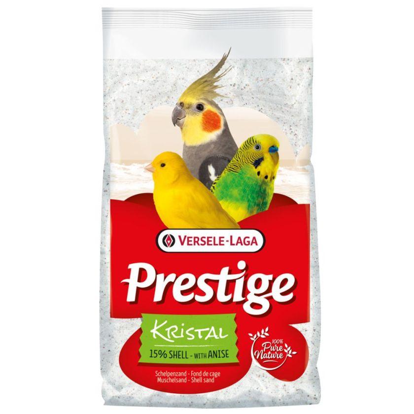 5kg Prestige Kristal Sable coquillier pour oiseaux