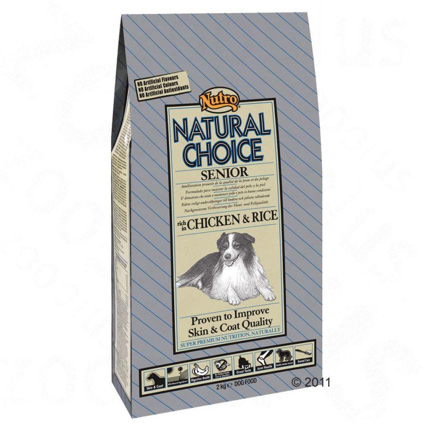 2x10kg Senior poulet et riz Nutro Choice pour chien