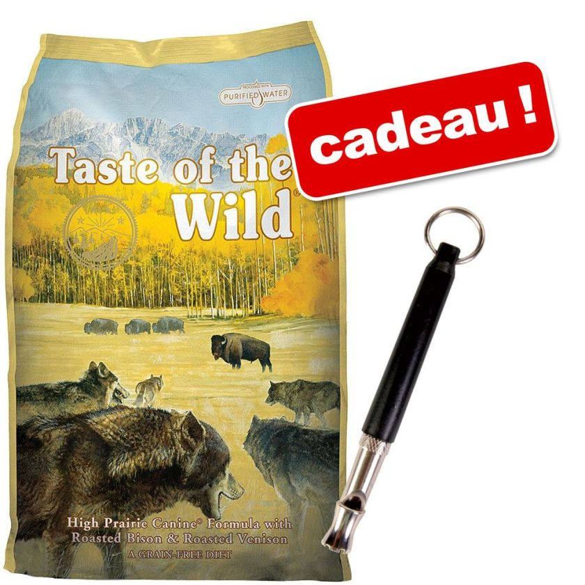 Croquettes Taste of the Wild 13 kg + Sifflet à haute fréquence offert ! - Sierra Mountain