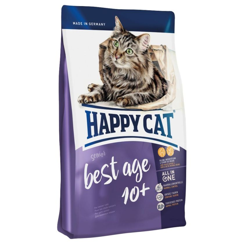 1,4kg Happy Cat Best Age 10+ pour chat - Croquettes pour chat