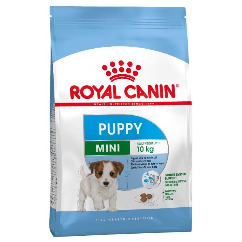 2x8kg Mini Junior Royal Canin Croquettes pour chiot