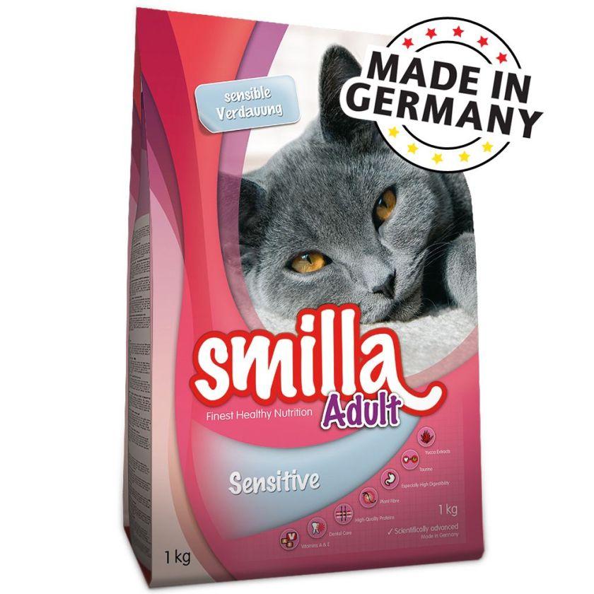 2x10kg Sensible Smilla - Croquettes pour Chat