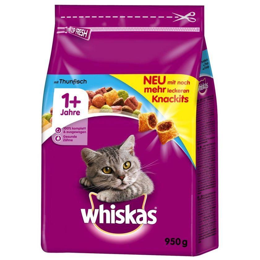 Whiskas 1 +, thon pour chat - 950 g
