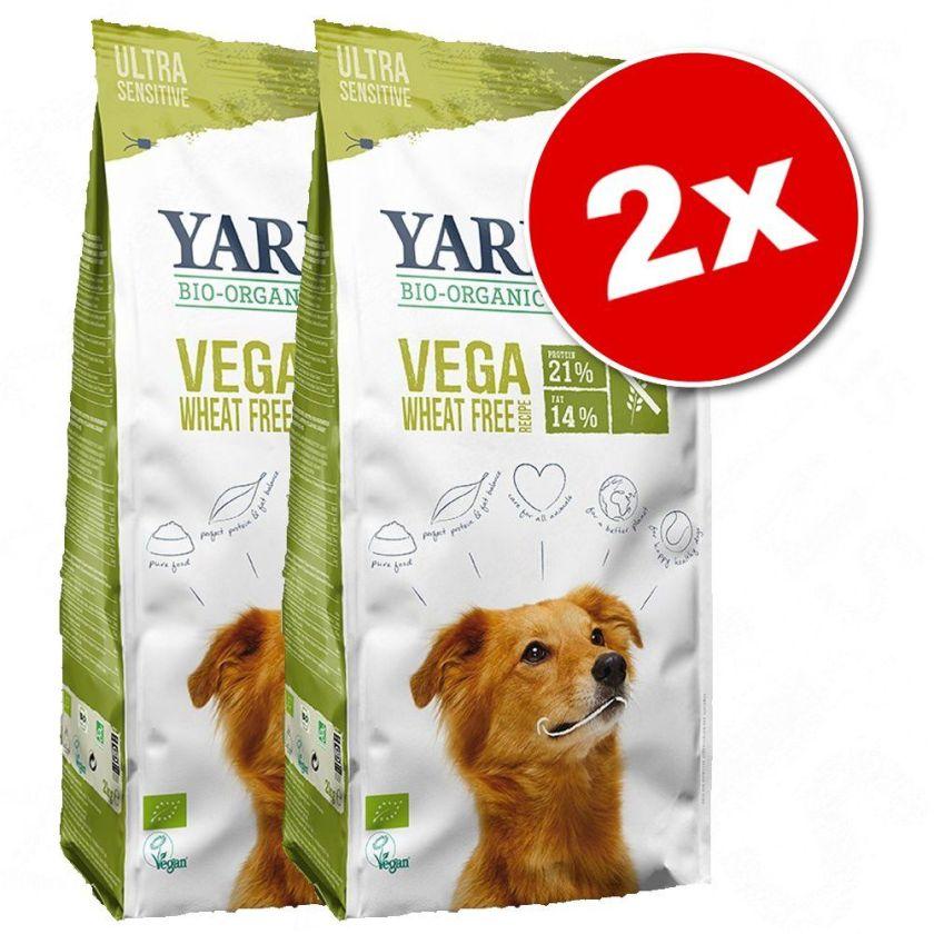 2x10kg Vega, baobab, huile de noix de coco Yarrah bio - Croquettes pour chien