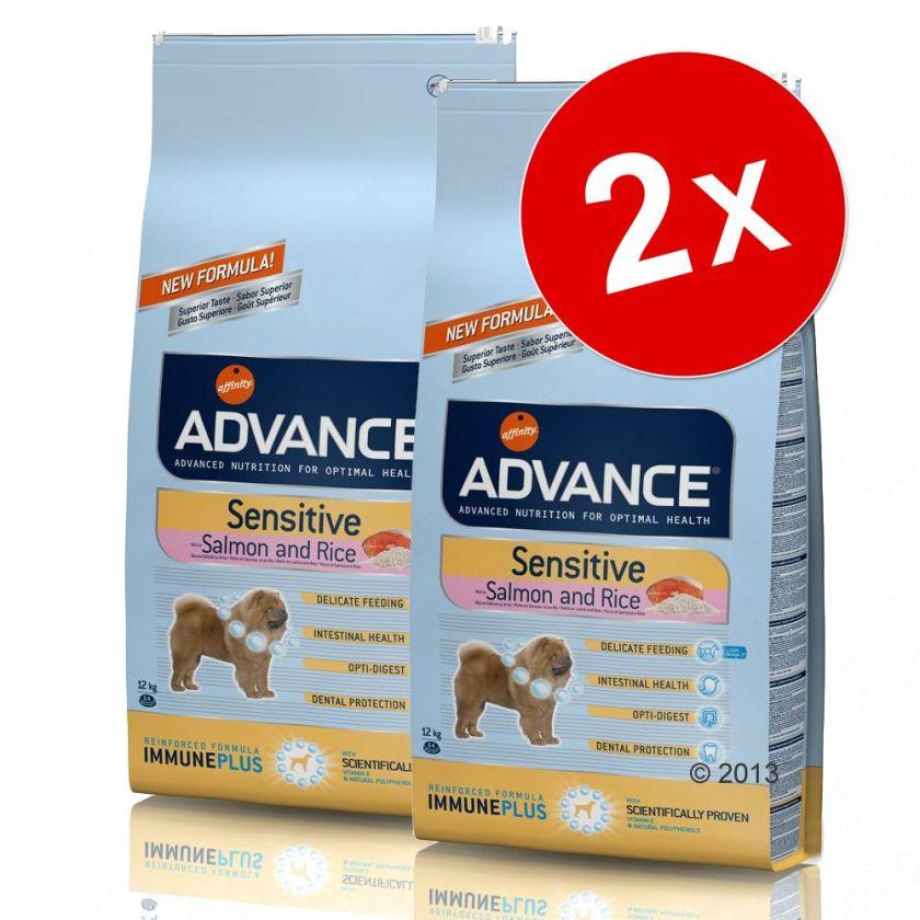 Lot Affinity Advance Adulte de toutes races pour chien - agneau, riz pour chien (2 x 12 kg)