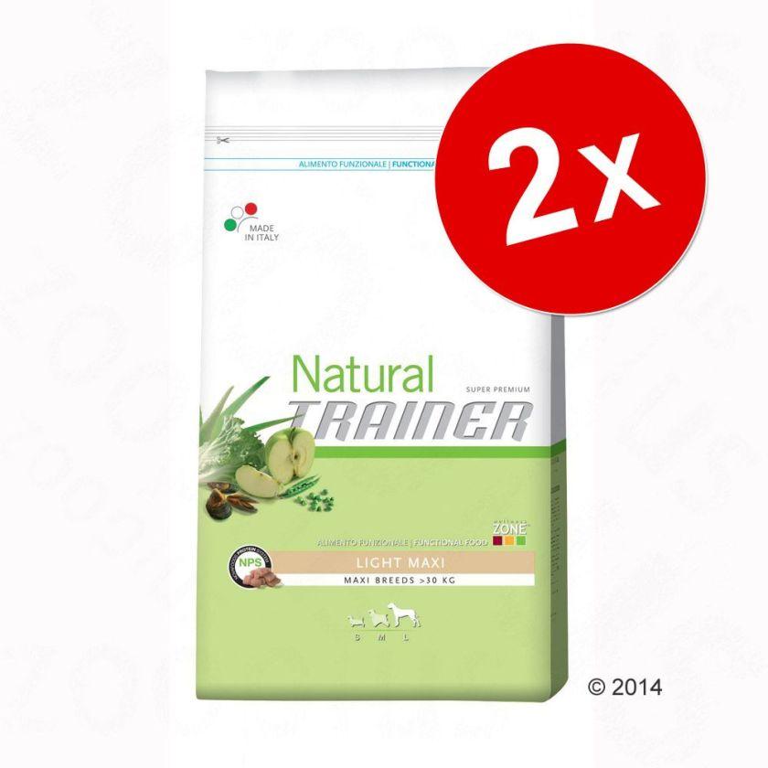 Lot Nova Foods Trainer Natural 2 x 12,5/7,5 kg - Junior Maxi pour chiot (2 x 12,5 kg)