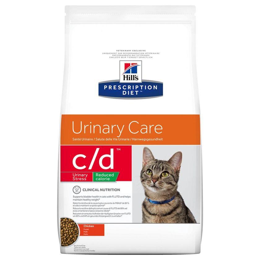 Hill´s Prescription Diet c/d Urinary Stress Reduced Calorie - 8 kg