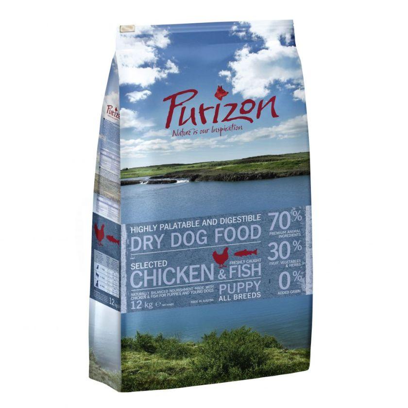 Purizon Puppy poulet, poisson - sans céréales pour chiot - 1 kg