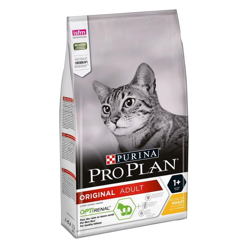 10kg Adult riches en poulet Pro Plan Croquettes pour chat