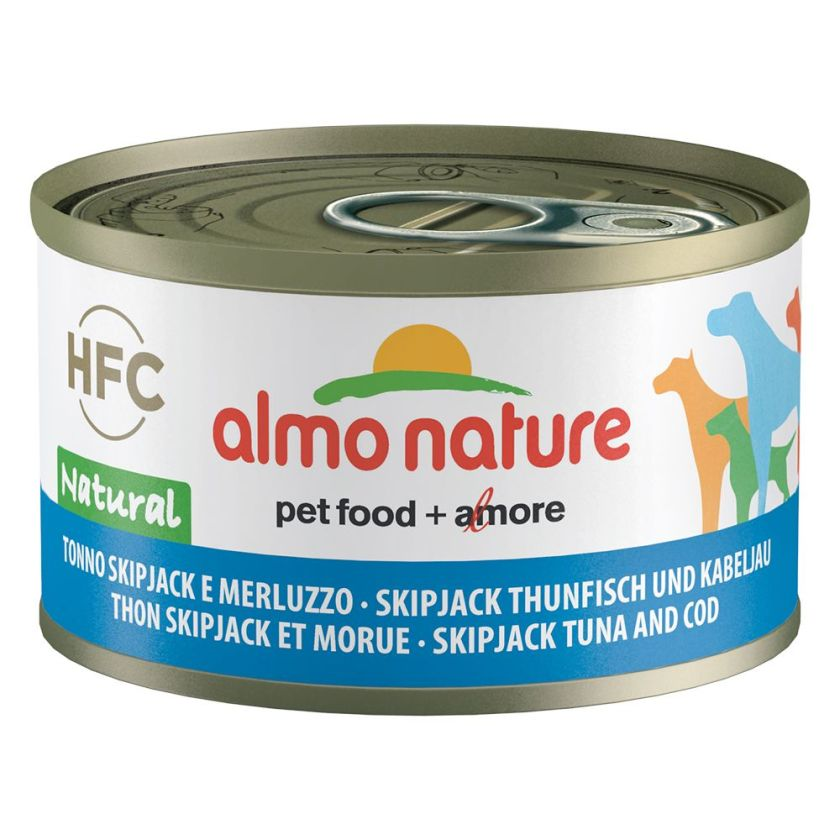 Almo Nature Classic 6 x 95 g - thon Skip Jack