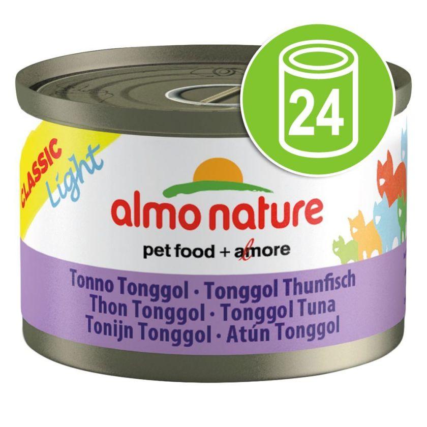 24x50g lot thon & poulet Almo Nature Classic - Nourriture pour Chat