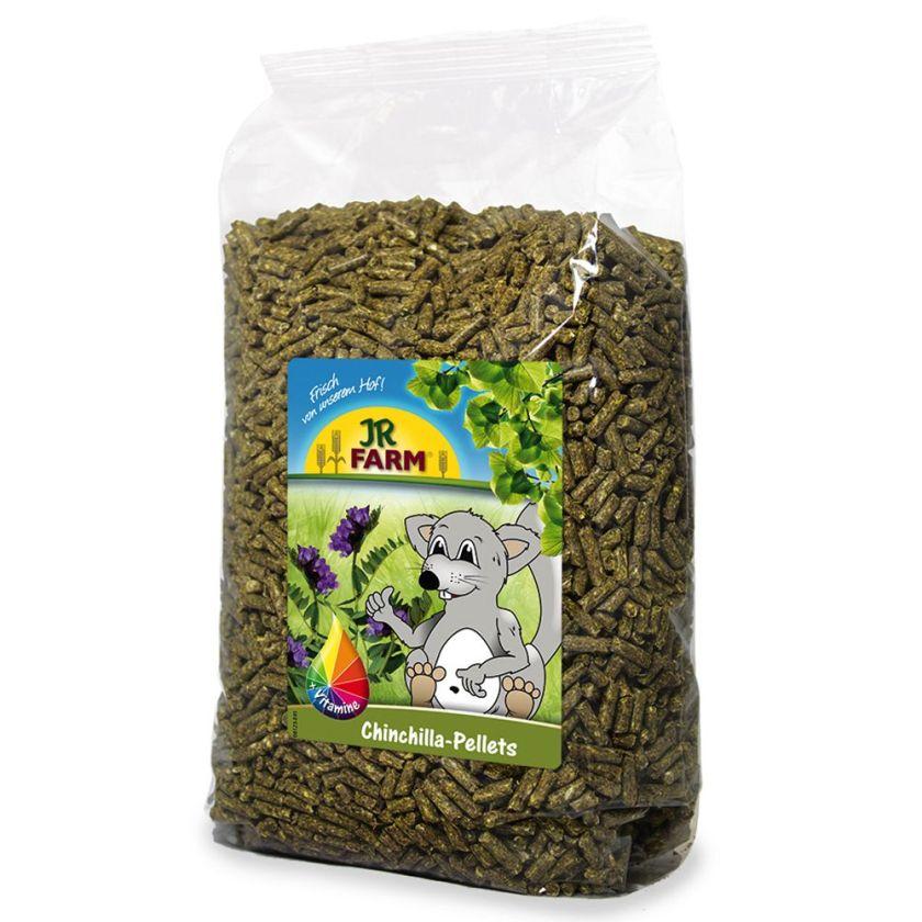 JR Farm Granulés pour chinchilla - 3 x 5 kg