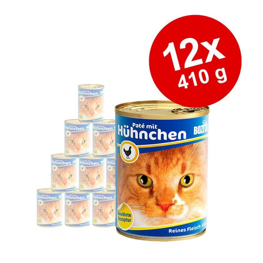 12x410g saumon Bozita - Nourriture pour Chat