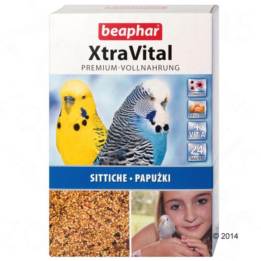 Nourriture Beaphar XtraVital pour perruche - 2 x 1 kg