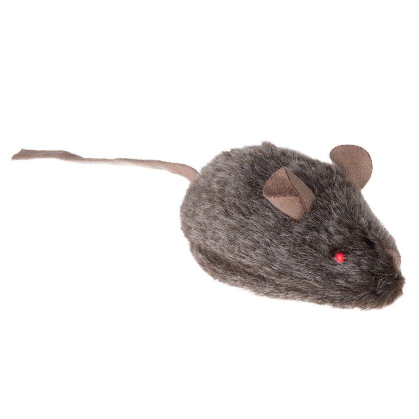 Souris sonore Wild Mouse avec LED pour chat - 3 souris