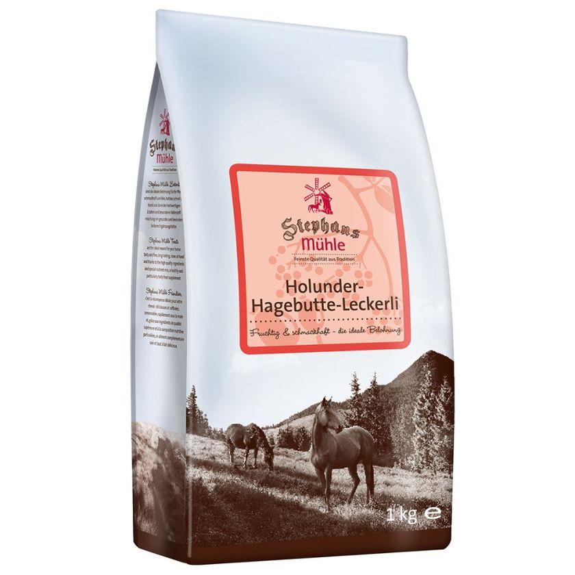 Stephans Mühle Friandises sureau/cynorrhodon pour cheval - 1 kg