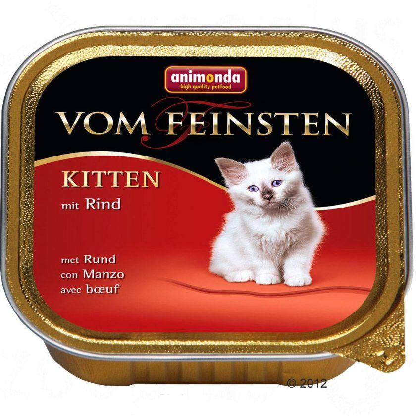 6x100g Kitten volaille Animonda - Nourriture pour Chat