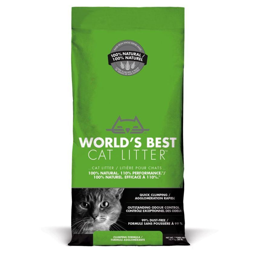 6,35kg Cat Litter World's Best - Litière pour Chat