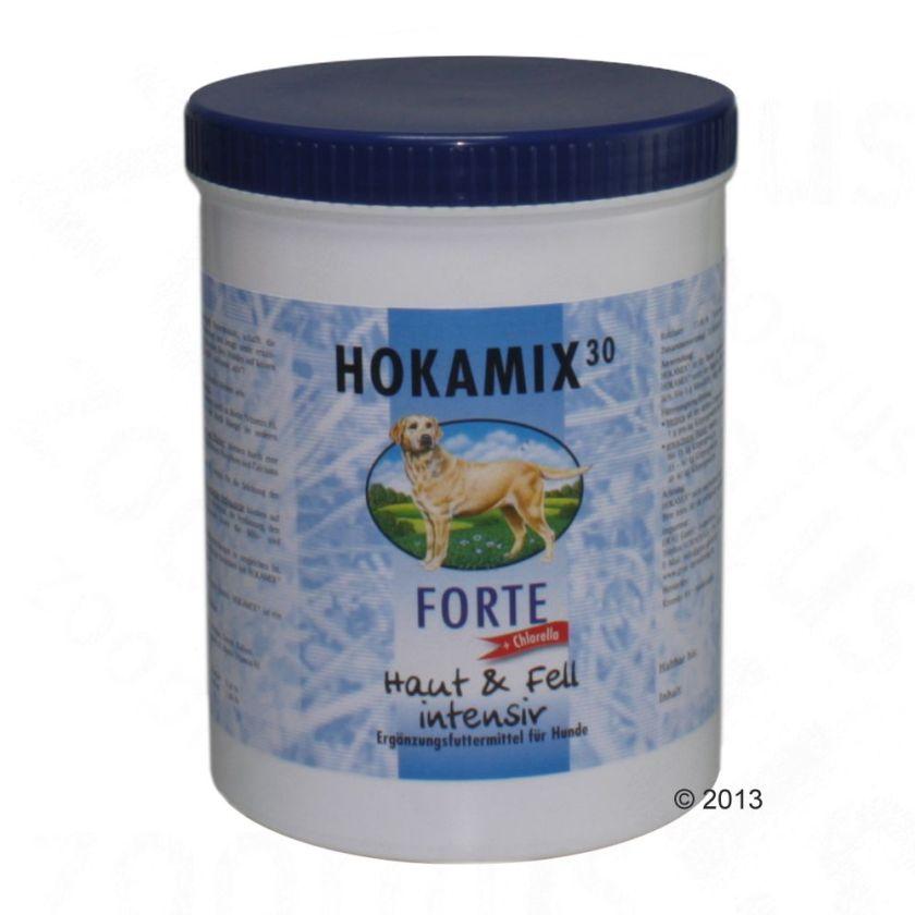 2x750g Hokamix30 Forte en poudre pour chien - Complément alimentaire pour chien