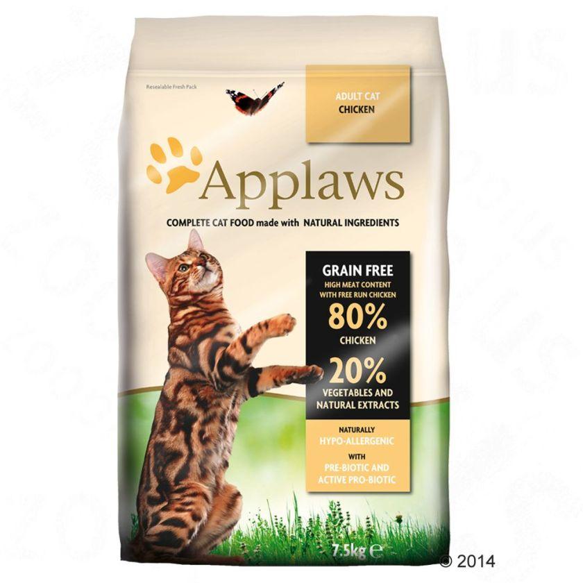 7,5kg Applaws poulet Croquettes pour chat