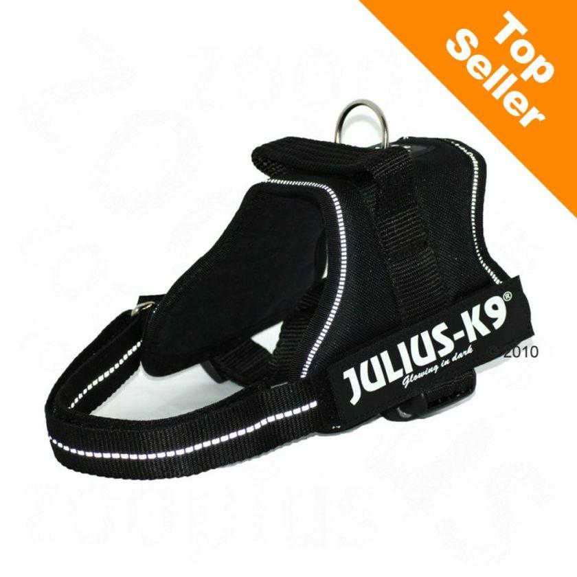 Julius®-K9 Power noir - Harnais chien T. Mini 51-67 cm - Harnais pour chien