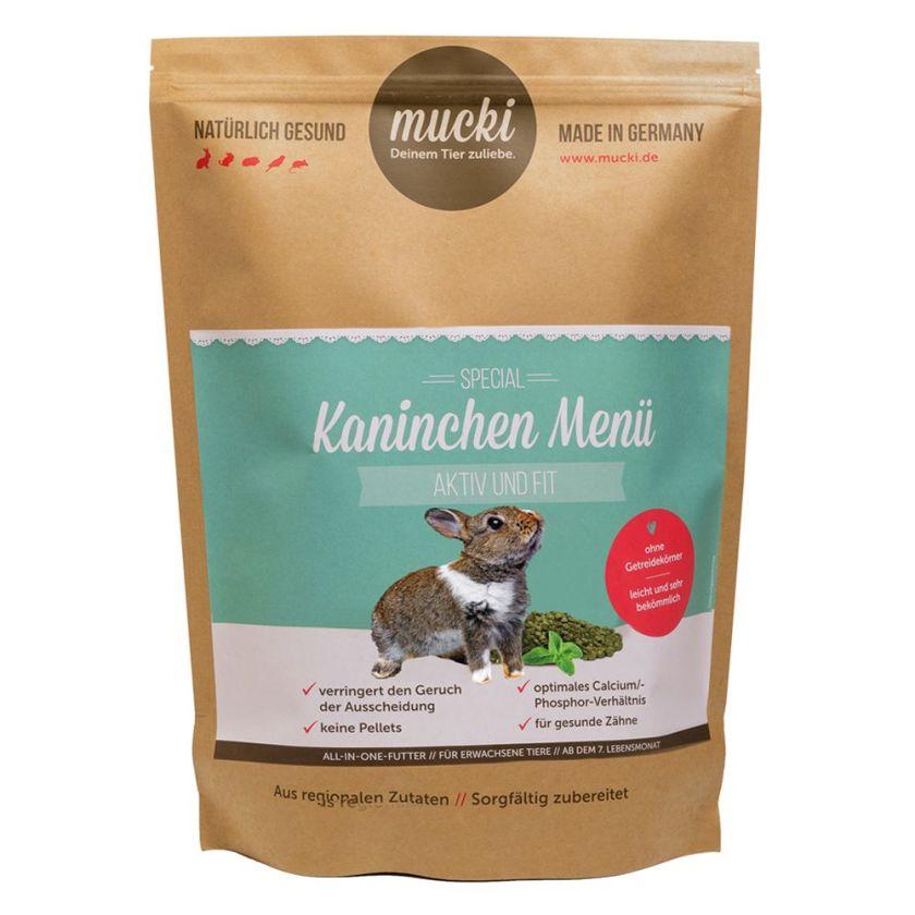 2kg Mucki Aktiv & Fit lapin - Nourriture Lapin