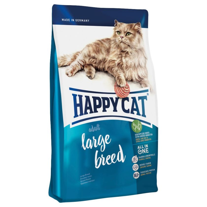 Happy Cat Adult Large Breed pour chat - 2 x 10 kg