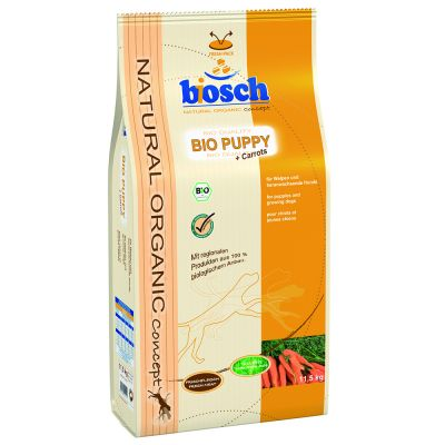 Bosch Organic Puppy hundfoder