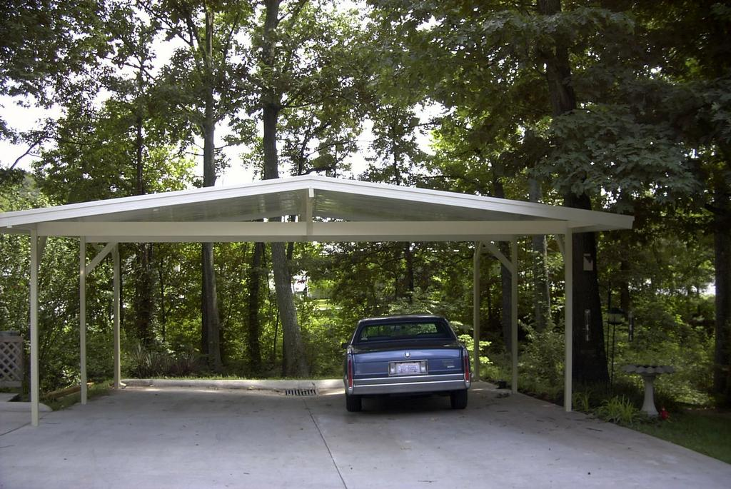 Double Carport From Patios Plus Incorporated In High Point