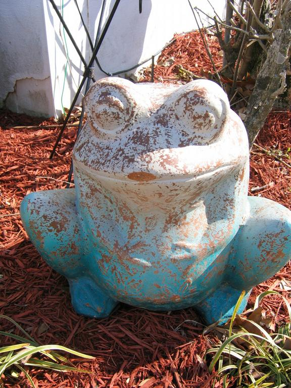 Terra Cotta Frog Planter From Blue Frog Imports In