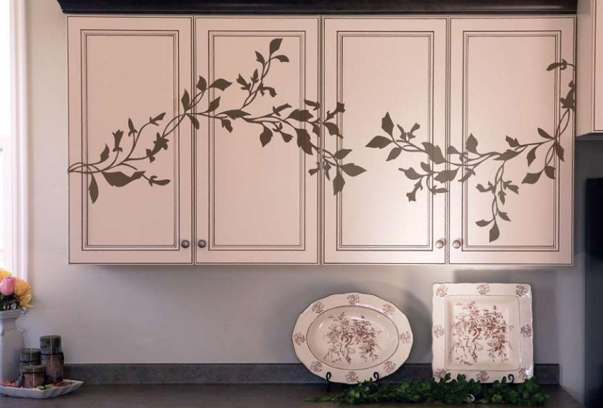 Morning Glory on cabinets.jpg provided by MerchantCircle Marketing  Advisor: Jannifer Stoddard (Boise, ID) Boise 83709