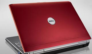 dell red laptop casing