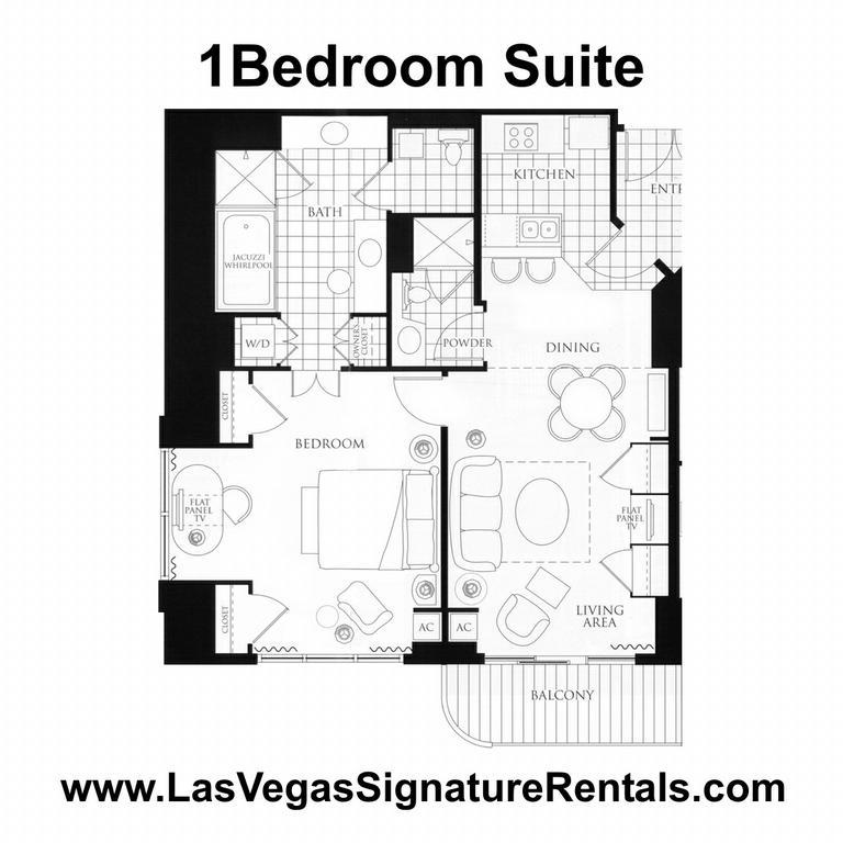 mgm signature 2 bedroom suite floor plan | www.redglobalmx.org